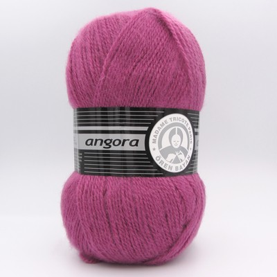 Пряжа Madame Tricote Angora 051 фуксия