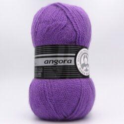 Пряжа Madame Tricote Angora 059 яркая сирень