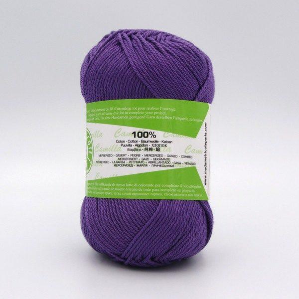 Пряжа Madame Tricote Camilla 5060 фиолетовый