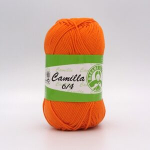 Пряжа Madame Tricote Camilla 5310 оранжевый