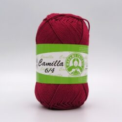 Пряжа Madame Tricote Camilla 5522 бордо