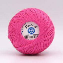 Пряжа Madame Tricote Perle 5 6005 малиновый
