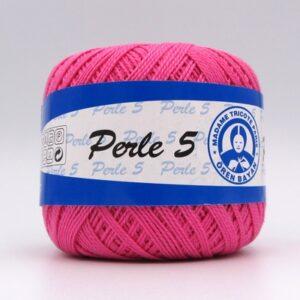 Пряжа Madame Tricote Perle 5 6005 малина