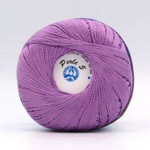 Пряжа Madame Tricote Perle 5 6309 сирень