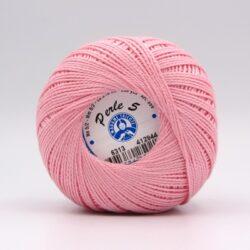 Пряжа Madame Tricote Perle 5 6313 розовый