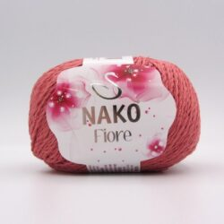 Пряжа Nako Fiore 11236 землянично-коралловый