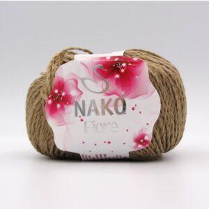 Пряжа Nako Fiore 11237 темный беж