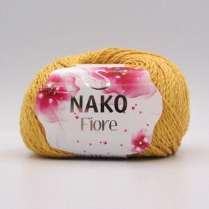 Пряжа Nako Fiore 11243 горчично-желтый