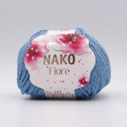 Пряжа Nako Fiore 11244 голубой