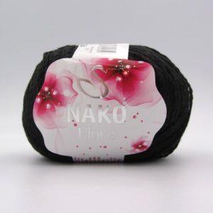 Пряжа Nako Fiore 217 черный