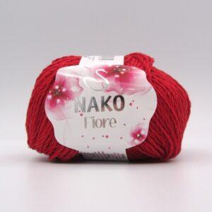 Пряжа Nako Fiore 3252 красный
