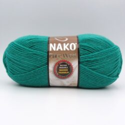 Пряжа Nako Pure Wool 1130 изумруд
