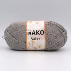 Пряжа Nako Solare серый 11239