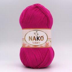 Пряжа Nako Solare малиновый 4569