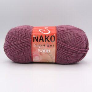Пряжа Nako Super inci Narin 569 темный фрезовый