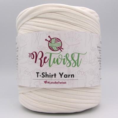 Трикотажная пряжа ReTwisst T-Shirt Yarn молочный