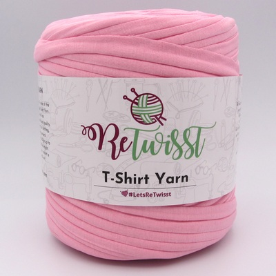 Трикотажная пряжа ReTwisst T-Shirt Yarn розовый