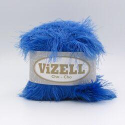 Пряжа Vizell Cha-Cha сине-голубой