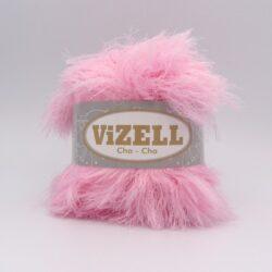 Пряжа Vizell Cha-Cha розовый