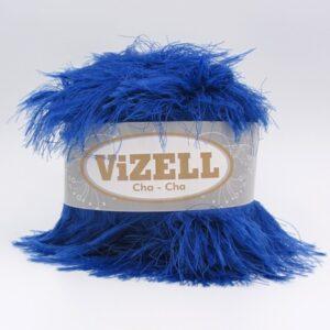 Пряжа Vizell Cha-Cha синий