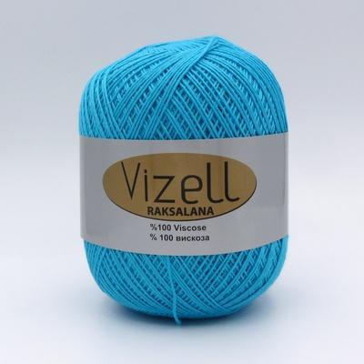 Пряжа Vizell Raksalana 511 голубая бирюза