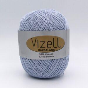 Пряжа Vizell Raksalana 540 серо-голубой