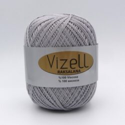 Пряжа Vizell Raksalana 702 серый