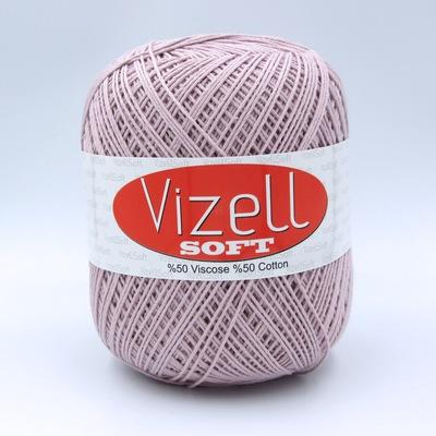 Пряжа Vizell Soft 735 пудра
