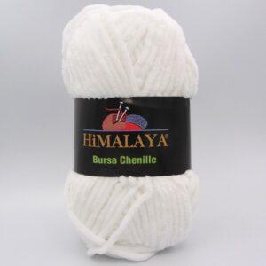 Пряжа Himalaya Bursa Chenille белый