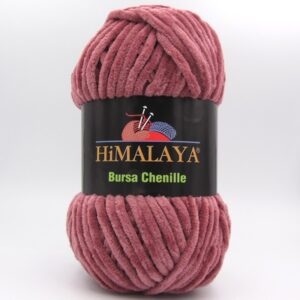 Пряжа плюшевая Himalaya Bursa Chenille темная пудра