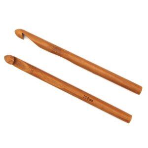 Крючок для вязания бамбуковый без ручки 10.0