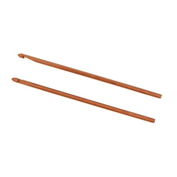 Крючок для вязания бамбуковый без ручки 4.5