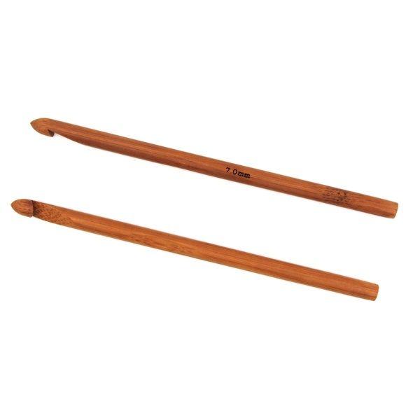 Крючок для вязания бамбуковый без ручки 7.0