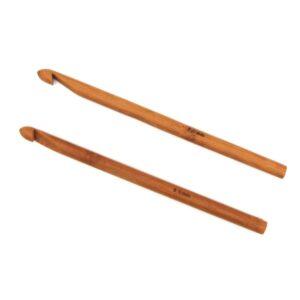 Крючок для вязания бамбуковый без ручки 8.0