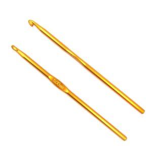 Крючок для вязания металлический без ручки 5.0