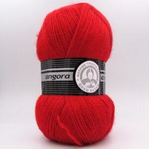 Пряжа Madame Tricote Angora 033 темно-красный