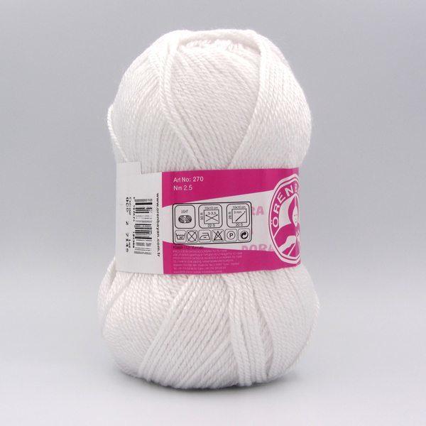 Пряжа Madame Tricote Dora 000 белый