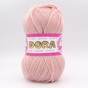 Пряжа Madame Tricote Dora 001 пудра