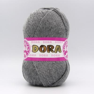 Пряжа Madame Tricote Dora 008 серый