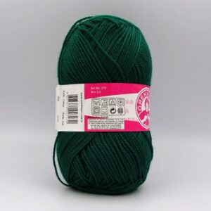 Пряжа Madame Tricote Dora 068 темно-зеленый
