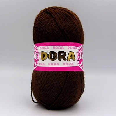 Пряжа Madame Tricote Dora 083 шоколад
