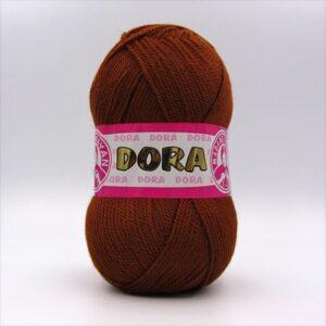 Пряжа Madame Tricote Dora 084 коричневый