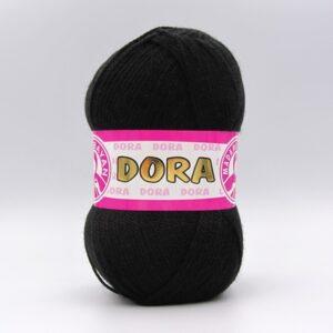 Пряжа Madame Tricote Dora 999 черный