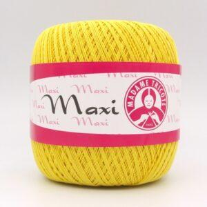 Пряжа Madame Tricote Maxi 5530 желтый