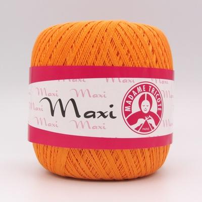 Пряжа Madame Tricote Maxi 6350 оранжевый