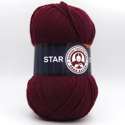 Пряжа Madame Tricote Star 035 бордо