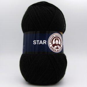 Пряжа Madame Tricote Star 999 черный