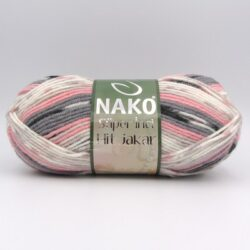 Пряжа Nako Super Inci Hit Jakar 81494