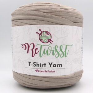 Трикотажная пряжа ReTwisst T-Shirt Yarn бежевый