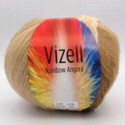 Пряжа Vizell Rainbow Angora  02
